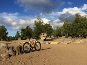 Fat bike FontainebleauBikeRental